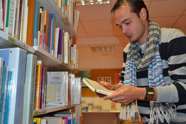 Pour cette année de validation, Ludovic conjugue un mi-temps en classe, avec sa formation. Une articulation qui lui permet de chercher des pédagogies adaptées.